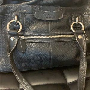 Coach original leather bag
